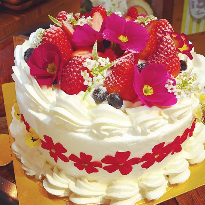 高岡市 スイーツ・ケーキ屋さんマイスイーツパーラーのバースデーケーキ
