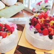 卒業お祝いケーキ